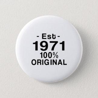 Est. 1971 button
