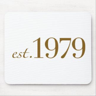 Est 1979 mouse pad
