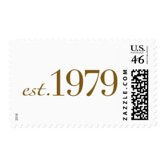 Est 1979 postage