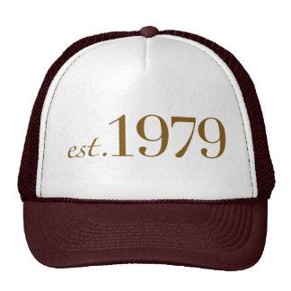 Est 1979 trucker hat