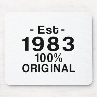 Est. 1983 mouse pad