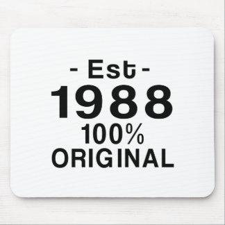 Est. 1988 mouse pad