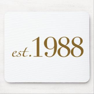 Est 1988 mouse pad