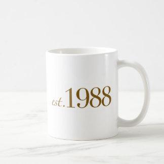 Est 1988 taza clásica