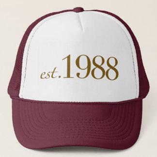 Est 1988 trucker hat
