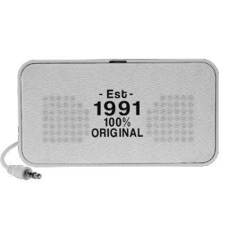 Est. 1991 mini speaker