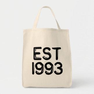 est 1993 tote bag
