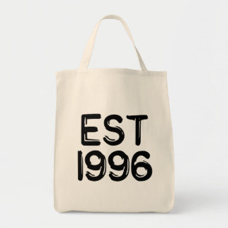EST 1996 TOTE BAG