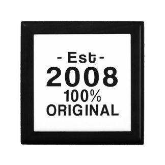 Est. 2008 keepsake box