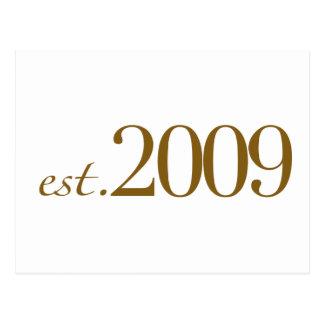 Est 2009 postal
