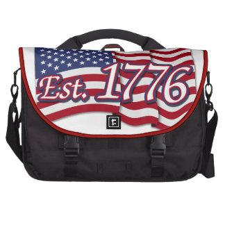 Est. Bandera de los 1776 E.E.U.U. Bolsa Para Ordenador