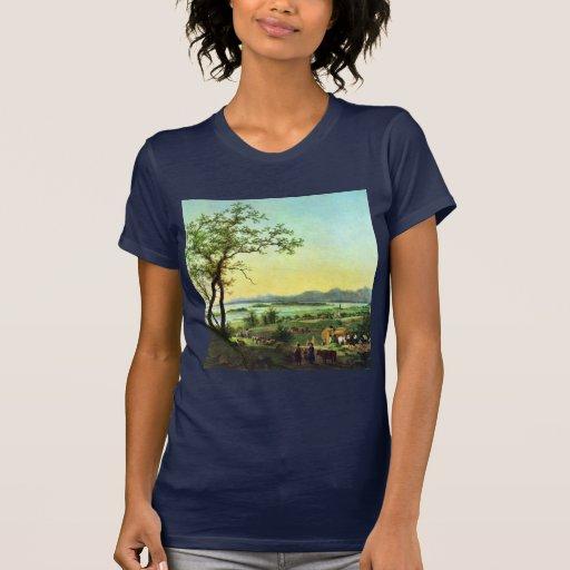 Est Chiemsee de Hess Peter Von (la mejor calidad) Camisetas