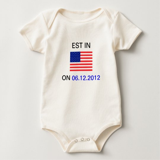 EST In America Baby Sleeper Baby Bodysuit