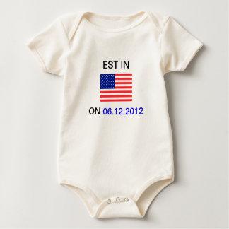 EST In America Baby Sleeper Baby Creeper
