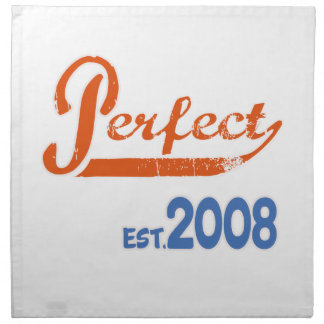 Est perfecto. 2008 servilletas
