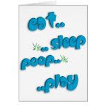 Est. .sleep. .poop. .play felicitacion