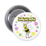 Esta abuela es el anillo diario de la abeja de la  pins