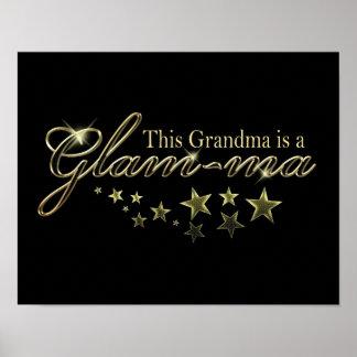 Esta abuela es un Atractivo-mA Poster