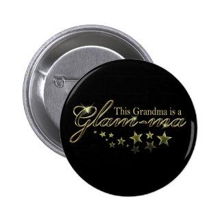 Esta abuela es un Atractivo-mA Pin Redondo 5 Cm