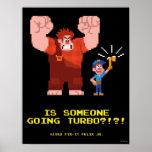 Está alguien Turbo que va Poster