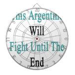 Esta Argentina luchará hasta el extremo Tablero De Dardos