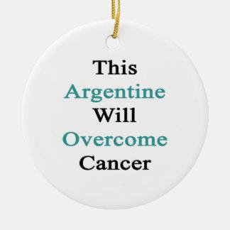 Esta Argentina superará al cáncer Ornamentos Para Reyes Magos