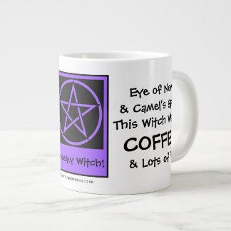 Esta bruja quiere la taza wiccan pagana ENORME de  Taza Jumbo