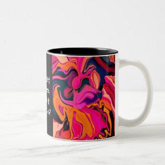 está caliente adentro aquí tazas de café