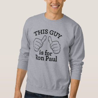 Esta camisa de Ron Paul del individuo