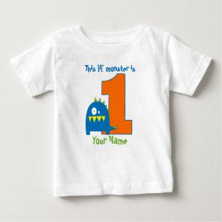 Esta camisa del cumpleaños del monstruo de Lil