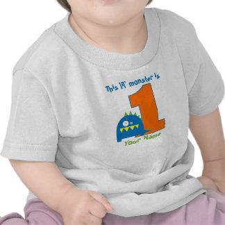 Esta camisa del cumpleaños del monstruo de Lil pri
