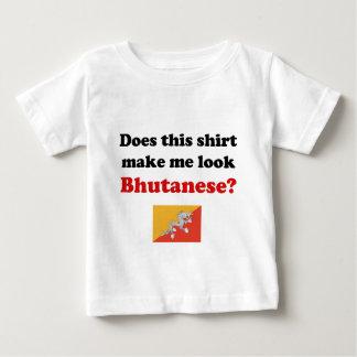¿Esta camisa me hace al Bhutanese de la mirada?