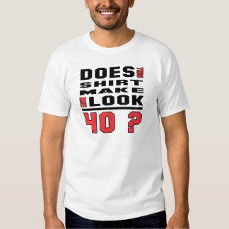¿Esta camisa me hace la mirada 40?