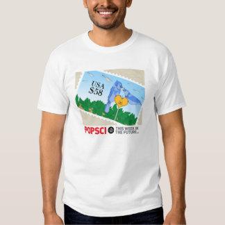 Esta camiseta de la semana de PopSci en el futuro Playeras
