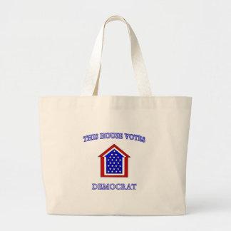 Esta casa vota a Demócrata Bolsas De Mano