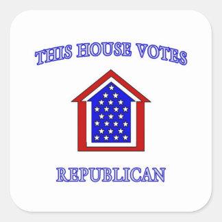 Esta casa vota al republicano colcomania cuadrada