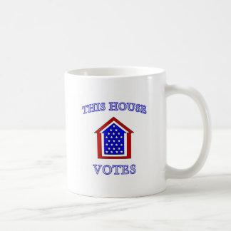 Esta casa vota tazas