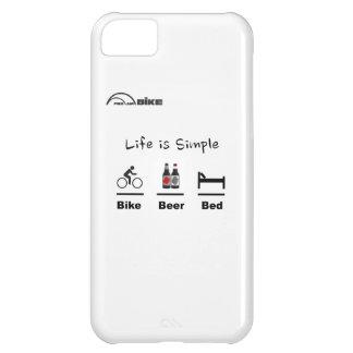 Está completando un ciclo caso - vida simple - bic funda para iPhone 5C
