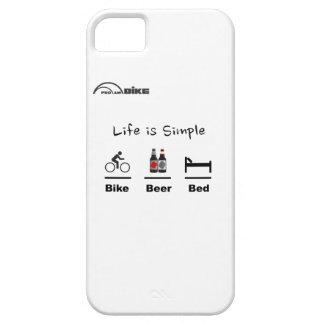 Está completando un ciclo caso - vida simple - iPhone 5 fundas