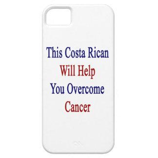 Esta costa Rican le ayudará a superar al cáncer iPhone 5 Case-Mate Cárcasa