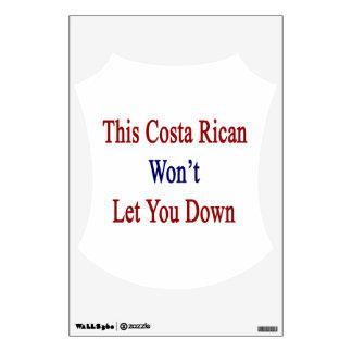 Esta costa Rican no le dejará abajo