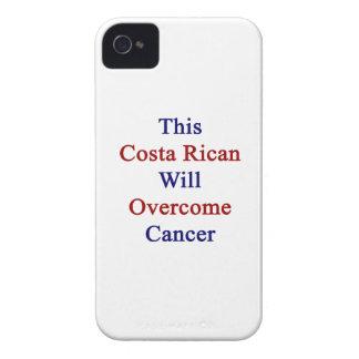 Esta costa Rican superará al cáncer iPhone 4 Case-Mate Protectores
