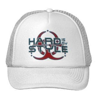 Está difícilmente mi música del hardstyle del gorra