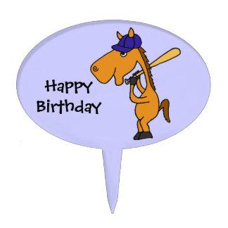 ESTÁ el caballo que juega el primero de la torta d Decoraciones De Tartas