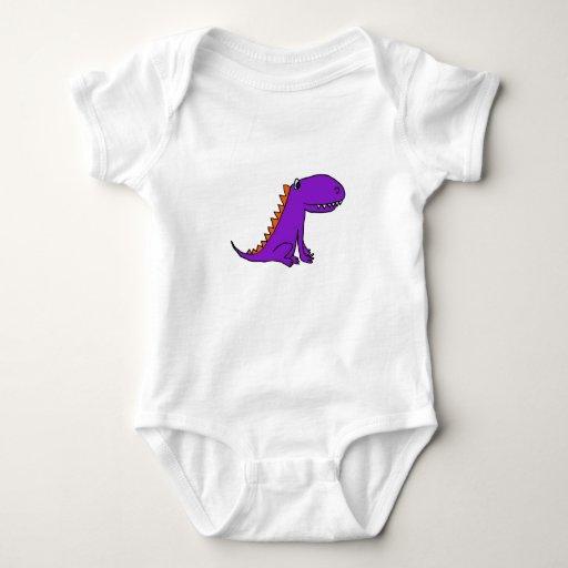 ESTÁ el equipo púrpura del bebé del dragón Playera