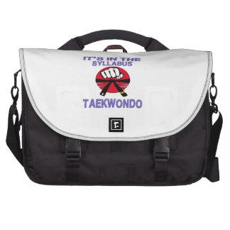Está en el programa el Taekwondo Bolsas De Portatil