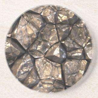 Está en las rocas Stoneface Posavasos Diseño
