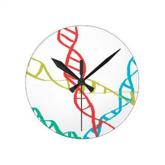 Está en mi DNA Reloj Redondo Mediano
