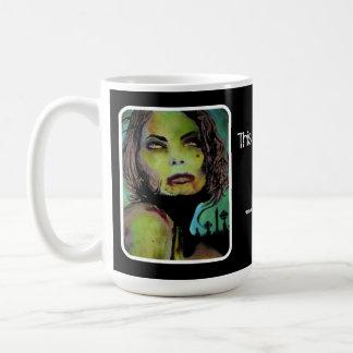 """""""Ésta es adiós"""" taza del zombi"""