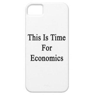 Ésta es hora para la economía iPhone 5 Case-Mate fundas